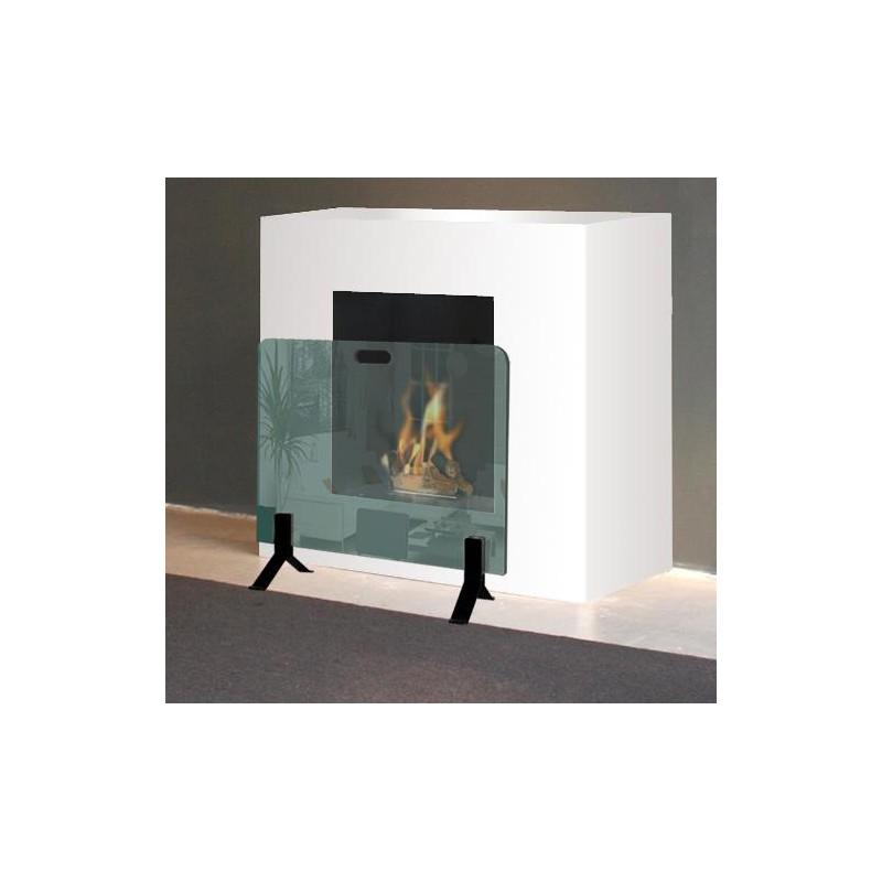 accueil accessoires kit pare feu chemin e au sol. Black Bedroom Furniture Sets. Home Design Ideas