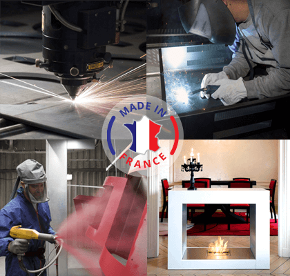 Direct Cheminée, fabricant de cheminée éthanol